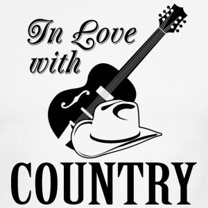 In love with country T-Shirts - Men's Ringer T-Shirt