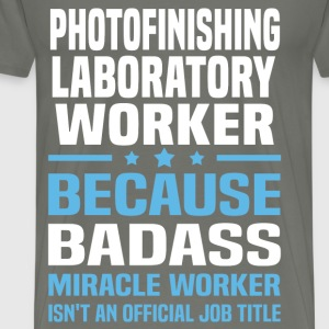 Photofinishing Laboratory Worker Tshirt - Men's Premium T-Shirt