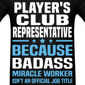 Player's Club Representative Tshirt - Men's T-Shirt