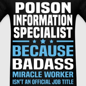 Poison Information Specialist Tshirt - Men's T-Shirt