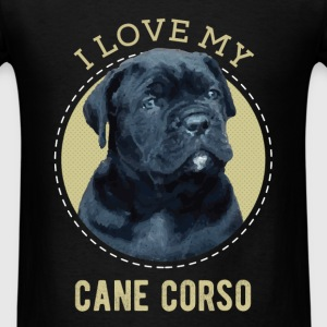 Pet Lovers - I love my cane corso - Men's T-Shirt