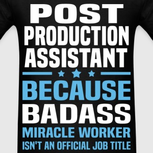 Post Production Assistant Tshirt - Men's T-Shirt