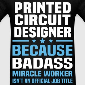 Printed Circuit Designer Tshirt - Men's T-Shirt