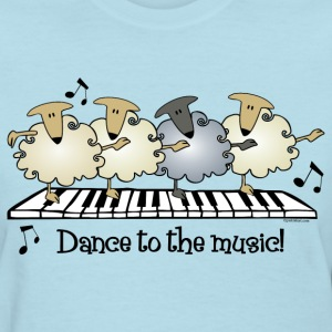 Sheep Chorus Line T-Shirts - Women's T-Shirt