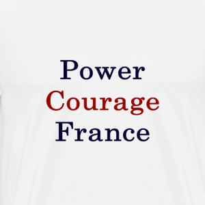 power_courage_france_ T-Shirts - Men's Premium T-Shirt