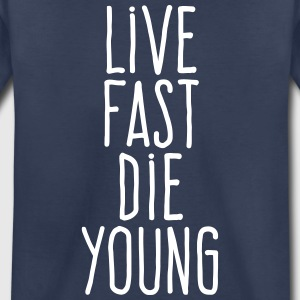 live fast die young Kids' Shirts - Kids' Premium T-Shirt