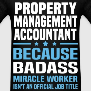 Property Management Accountant Tshirt - Men's T-Shirt