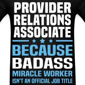 Provider Relations Associate Tshirt - Men's T-Shirt