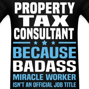 Property Tax Consultant Tshirt - Men's T-Shirt