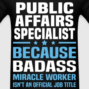 Public Affairs Specialist Tshirt - Men's T-Shirt