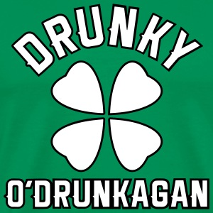 Drunky O'Drunkagan - Vector 2C - Men's Premium T-Shirt