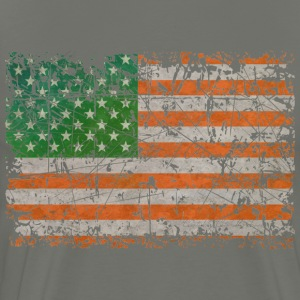 Irish States Of America - Men's Premium T-Shirt