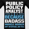 Public Policy Analyst Tshirt - Men's T-Shirt
