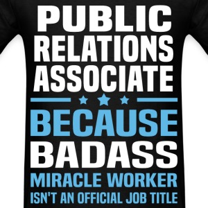 Public Relations Associate Tshirt - Men's T-Shirt