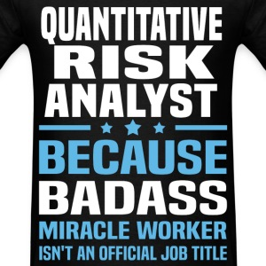Quantitative Risk Analyst Tshirt - Men's T-Shirt