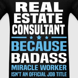 Real Estate Consultant Tshirt - Men's T-Shirt