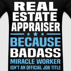 Real Estate Appraiser Tshirt - Men's T-Shirt