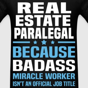Real Estate Paralegal Tshirt - Men's T-Shirt