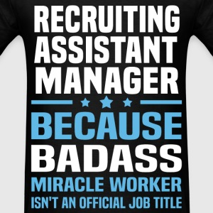 Recruiting Assistant Manager Tshirt - Men's T-Shirt