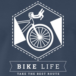 Bike Life - Take the best route - Men's Premium T-Shirt