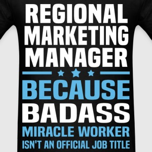 Regional Marketing Manager Tshirt - Men's T-Shirt