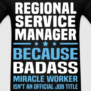 Regional Service Manager Tshirt - Men's T-Shirt