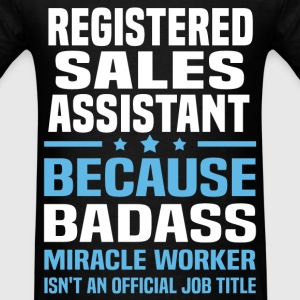 Registered Sales Assistant Tshirt - Men's T-Shirt