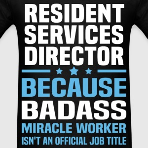 Resident Services Director Tshirt - Men's T-Shirt