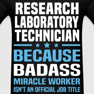 Research Laboratory Technician Tshirt - Men's T-Shirt