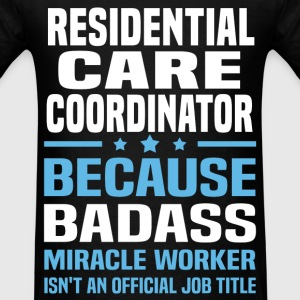 Residential Care Coordinator Tshirt - Men's T-Shirt