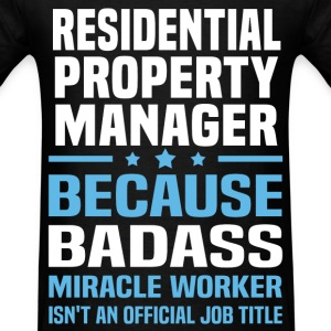 Residential Property Manager Tshirt - Men's T-Shirt
