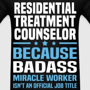 Residential Treatment Counselor Tshirt - Men's T-Shirt