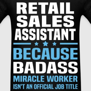 Retail Sales Assistant Tshirt - Men's T-Shirt