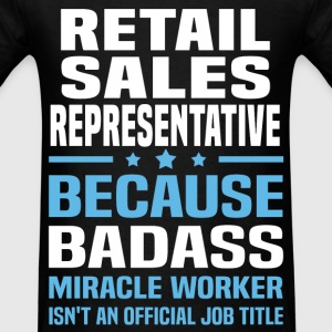 Retail Sales Representative Tshirt - Men's T-Shirt