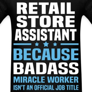 Retail Store Assistant Tshirt - Men's T-Shirt