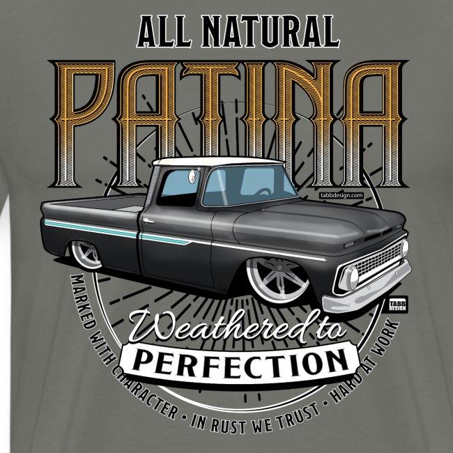 Natural Patina Black PREMIUM ART Tee