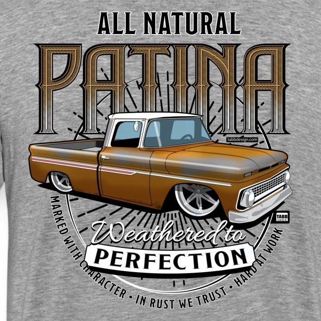 Natural Patina Gold PREMIUM ART Tee (BACK)