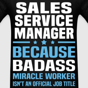 Sales Service Manager Tshirt - Men's T-Shirt