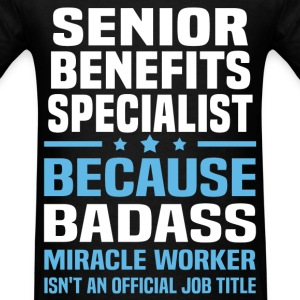 Senior Benefits Specialist Tshirt - Men's T-Shirt
