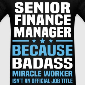 Senior Finance Manager Tshirt - Men's T-Shirt