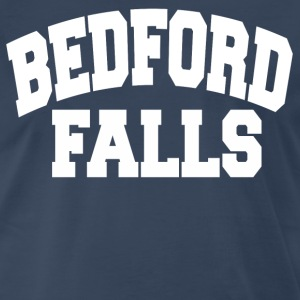 Bedford Falls - Its A Wonderful Life T-Shirts - Men's Premium T-Shirt