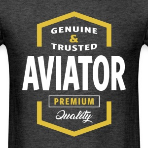 Aviator Logo T-shirt - Men's T-Shirt