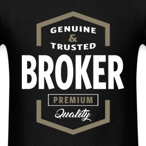 Broker Logo T-shirt - Men's T-Shirt