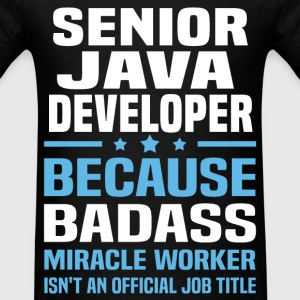 Senior Java Developer Tshirt - Men's T-Shirt
