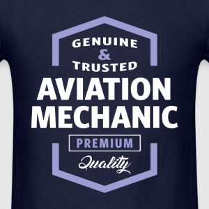 Aviation Mechanic Logo T-shirt - Men's T-Shirt