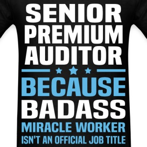 Senior Premium Auditor Tshirt - Men's T-Shirt