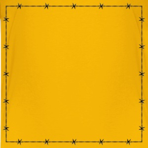 Barbed Wire Frame Border - Kids' Premium T-Shirt