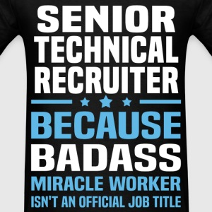 Senior Technical Recruiter Tshirt - Men's T-Shirt