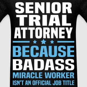 Senior Trial Attorney Tshirt - Men's T-Shirt
