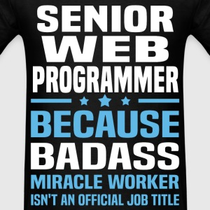 Senior Web Programmer Tshirt - Men's T-Shirt